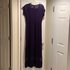 Maxi dress. Worn only a couple times, like new.